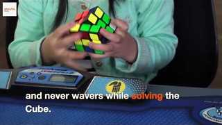 Three-Year-Old Nails Rubik's Cube in 47 Seconds - Video