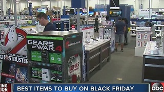 Best items to buy on Black Friday - Video