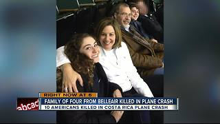 Local family killed in Costa Rica plane crash - Video