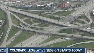 Colorado legislative session starts Wednesday - Video