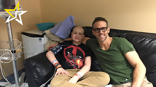 Ryan Reynolds Pays Tribute To Late Cancer Patient - Video
