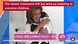 Hoda Kotb's adoption details | Rare People - Video