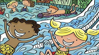 Can you find 7 hidden words in this summer image?