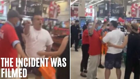 A Man Went On A Racist Rant In A Mississauga Grocery Store For Not Wearing A Mask