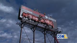 """Ribdiculous"" Billboard in KC - Video"