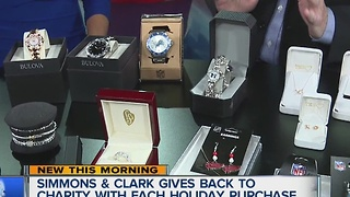 Simmons & Clark Jewelers give back to charity with each holiday purchase - Video