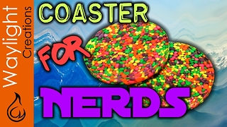 How to make a Nerds coaster - Video