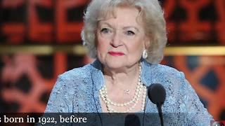 Betty White is celebrating her 95th birthday - Video
