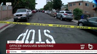 Man in hospital after possible officer-involved shooting