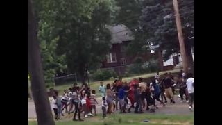 Brawl caught on camera in Akron's Perkins Park, residents want increased security - Video
