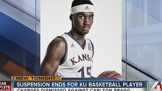 Charges dropped against KU basketball player - Video