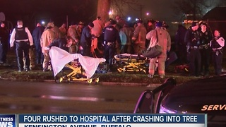 Driver dead in overnight crash - Video