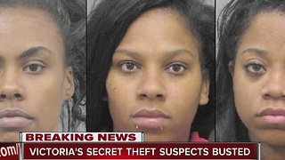 Henderson police arrest 3 women in Victoria's Secret theft ring - Video