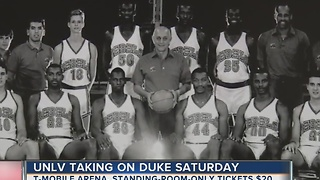 UNLV and Duke meet for first time in 25 years - Video