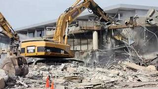 Sky Harbor Terminal 3 modernization continues with demolition of south concourse - Video