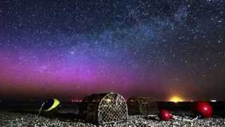 Timelapse Footage Captures Stunning Aurora Borealis Display - Video