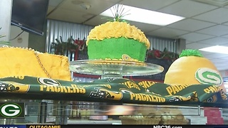Bakeries making green and gold goodies - Video