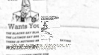 Ku Klux Klan aiming to recruit in Pasco County neighborhood - Video