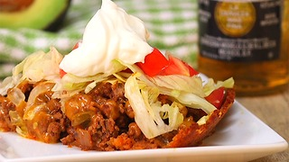 Deep Dish Taco Pie - Video