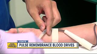 Pulse Remembrance Blood Drive Weekend