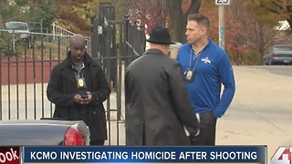 KCMO investigating homicide after shooting - Video