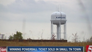 Small Tennessee Town Waits To Learn Who Won Millions In Powerball - Video