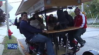 'Pedal pubs' one step closer to hitting Green Bay streets - Video