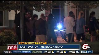 Last day for the Indiana Black Expo - Video