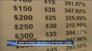 Be cautious of payday loans - Video