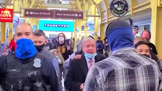 RINO Lindsey Graham is Confronted by Trump Supporters They Call Him A Traitor (2nd Angle)