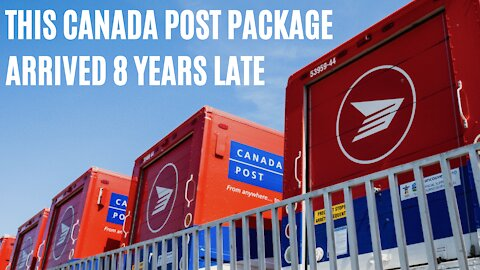 Some Guy In Toronto Finally Got A Canada Post Package 8 Years After He Ordered It