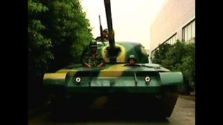 Man Builds Own Tank - Video