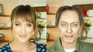 Makeup Artist Transforms Herself Into Steve Buscemi - Video