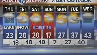 Autumns 7 First Alert Forecast for January 5th 7 Eyewitness News at Noon - Video