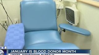Resolve to give blood this January at Unyts - Video