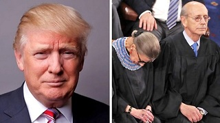 Supreme Court Justice Ruth Bader Ginsburg apologizes for trashing Trump - Video