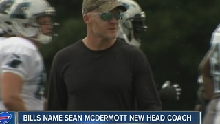 Buffalo Bills name Sean McDermott as new head coach - Video