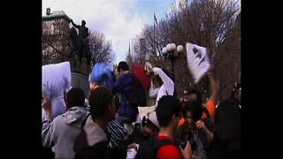 New York Pillow Fight - Video