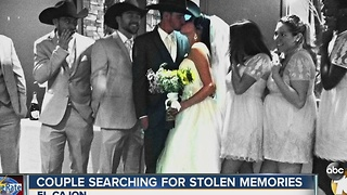Couple searching for stolen memories - Video