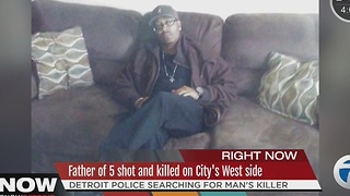 Father of 5 shot and killed - Video