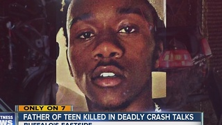Father of teen killed in overnight crash talks to 7 Eyewitness News