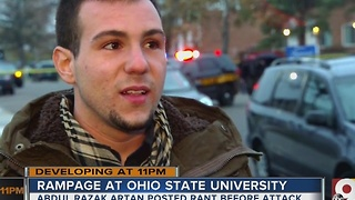 Ohio State attacker 'seemed like a very normal guy' - Video