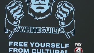 White Supremacist Flyer at FGCU - Video