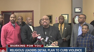 Community leaders seek more help to fight crime in Indianapolis - Video