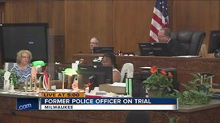 Former police officer on trial