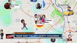 Snap Maps cause safety concerns