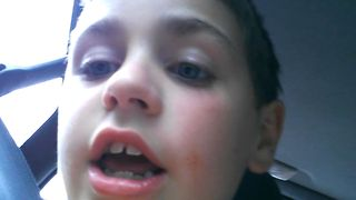 Adorable Boy Talks About Falling In Love - Video