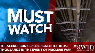 the Secret Bunkers Designed to House Thousands in the Event of Nuclear War - Video