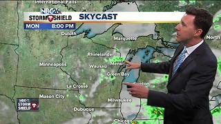 Michael Fish's NBC26 Monday Weather Forecast - Video