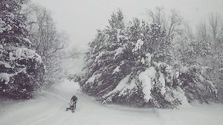 Another Foot of Snow Expected in Snowbound Erie, Pennsylvania - Video
